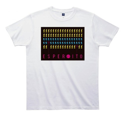 《エスパー伊東Tシャツ》TS007/ インベーダー