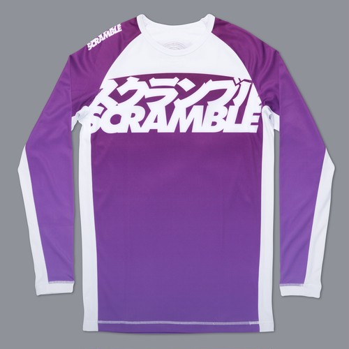 SCRAMBLE RANKED RASHGUARD V3 –パープル