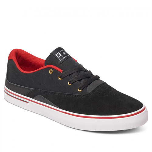 DC SHOES SULTAN S BLACK/RED ディーシー