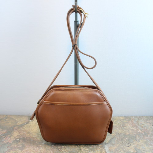 .OLD COACH LEATHER SHOULDER BAG MADE IN USA/オールドコーチレザーショルダーバッグ 2000000034034
