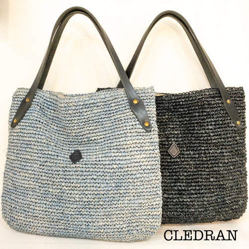 CL3078 ラフィアスクエアバスケット CLEDRAN(クレドラン)