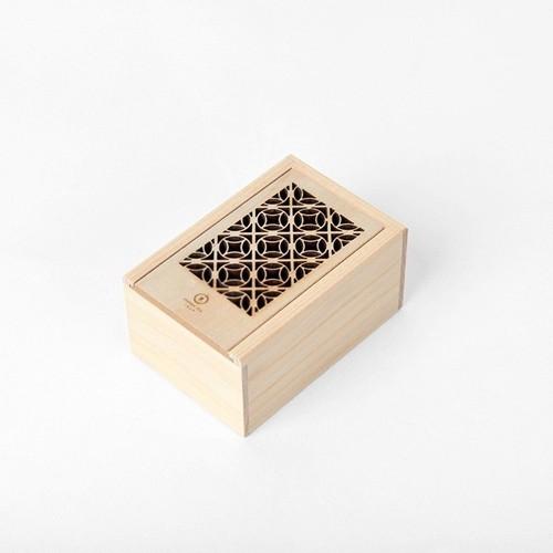 台湾茶 切り絵ボックス 朝顔(鉄観音)