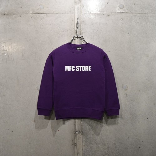 MFC STORE SIDE LOGO KIDS CREWNECK / PURPLE