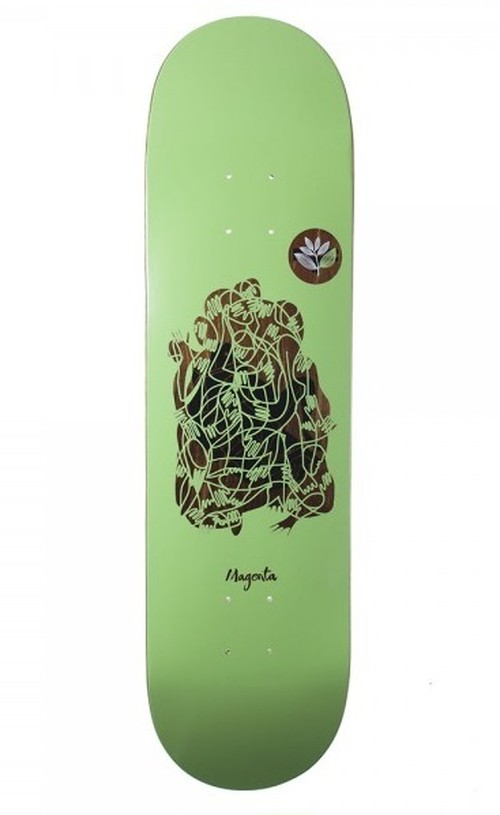 MAGENTA SKATEBOARDS GLEN FOX GUEST ARTIST BOARD 8.25×32.2