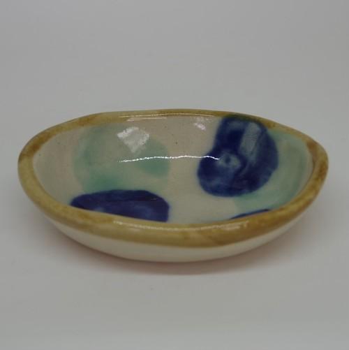 やちむん【土工房陶糸】4寸楕円鉢