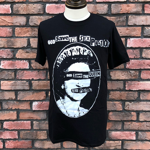 Deadstock Sex Pistols God Save The Queen T-Shirt Black Small