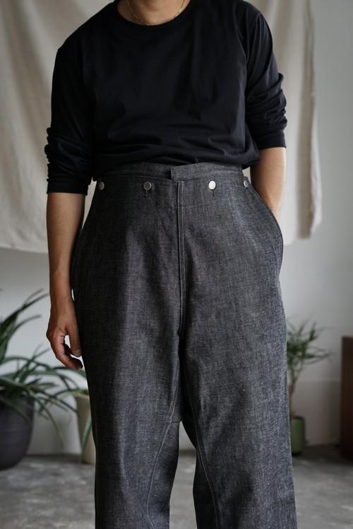 <STYLING> ⇨ TUKI - type 3, loose fit jeans (black)