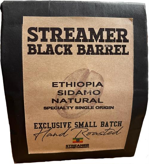 ETHIOPIA SIDAMO NATURAL (STREAMER BLACK BARREL - SPECIALTY SINGLE ORIGIN SERIES)