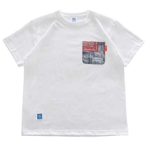LIFE POCKET Tee(BANDANA) / LIFEdsgn