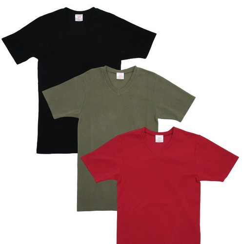 French V-Neck Tee 【OR GLORY】