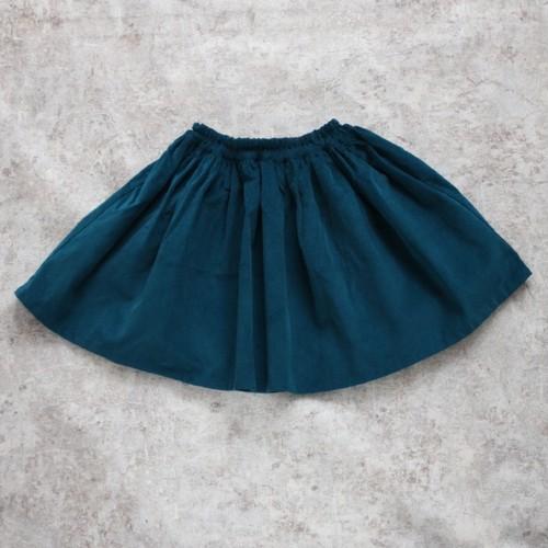 コーデュロイスカート(ミッドナイトブルー)