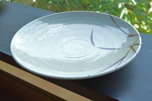 プラスチック・丸皿(大)