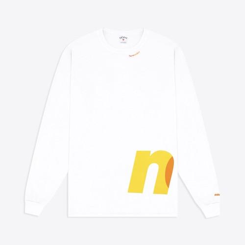 Noah x New Order LS Tee(White)