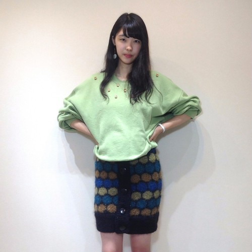 SWEAT ONEPIECE◆YELLOW GREEN