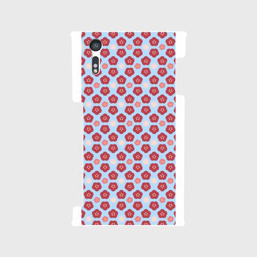 梅帯B 裏面スマホケース Android用