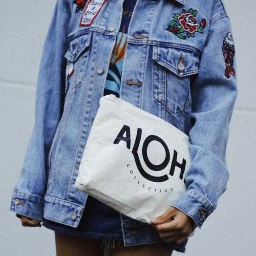Aloha collectionクラッチバッグ