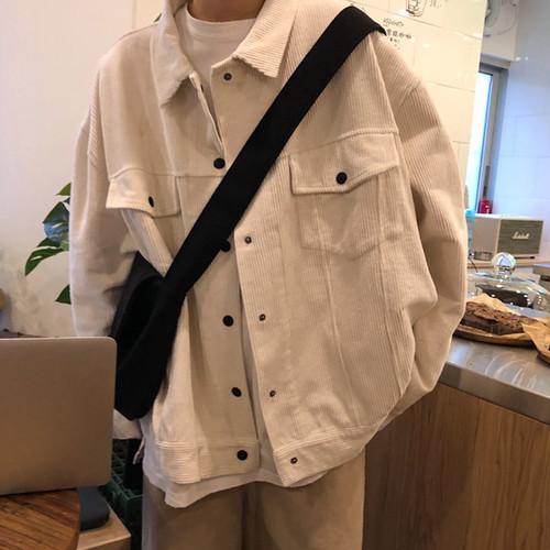 【送料無料】 ゆるだぼ×コーデュロイ♡ ビッグシルエット オーバーサイズ カジュアル ジャケット メンズライク