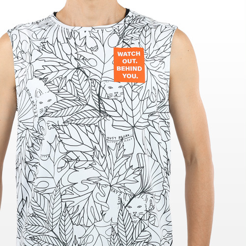 STAMP RUN & CO / STAMP GRAPHIC TANK (BEHIND YOU)