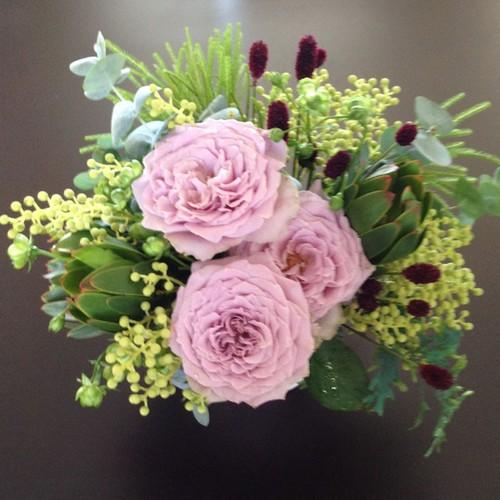 紫色の花3500円