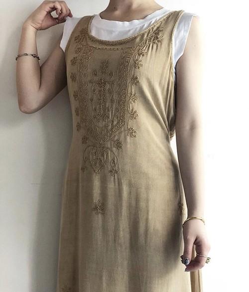 """GEETA"" vintage design dress"