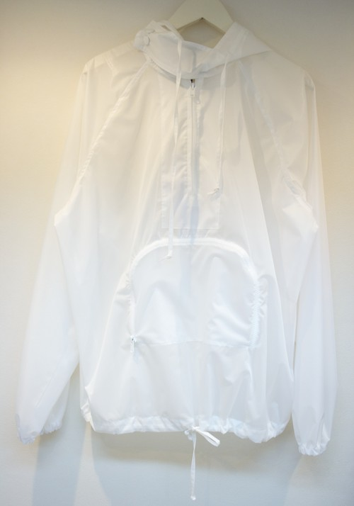 Meadham Kirchhoff QUENTIN NYLON HOODY クエンティン ナイロン パーカー / WHITE 50%OFF
