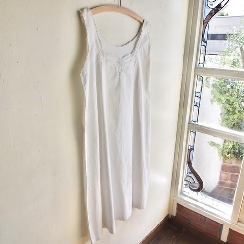 france antique cotton dress #1