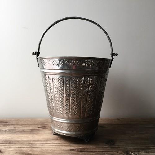 モロッコの古いハマムバケツ L