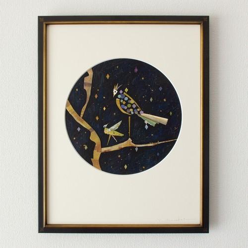 《イロトリ鳥》29.0×29.0cm/2015年