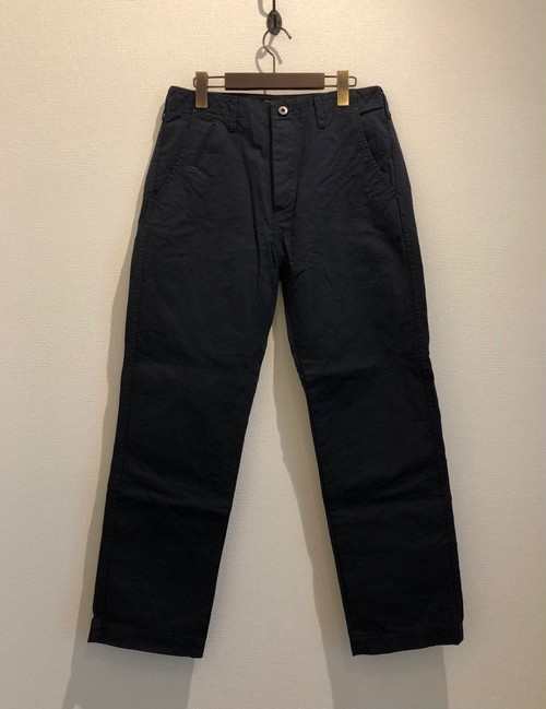 CHINO WIDE PANTS (NAVY) / LOST CONTROL