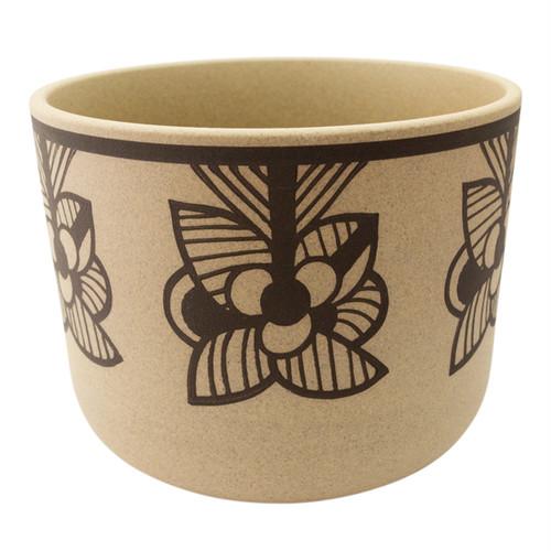 Lisa Larson Flora Stripe Flower 鉢カバー(ブラウン)