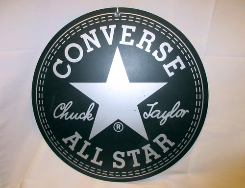 80's CONVERSE ALL STAR / STORE SIGN 両面 / 60cm  -antique-