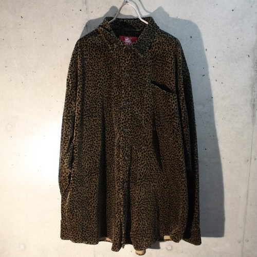 Velor Leopard Shirt