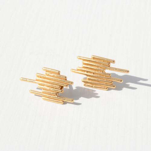 girandole pierces (gold)