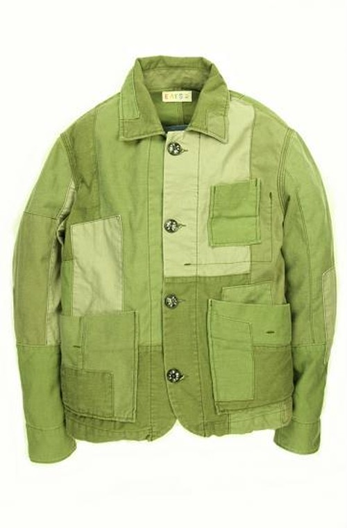 Used Patchwork Jacket_ARMY