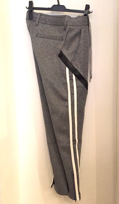 Aqua Gurad Pocket Jersey Pants Gray
