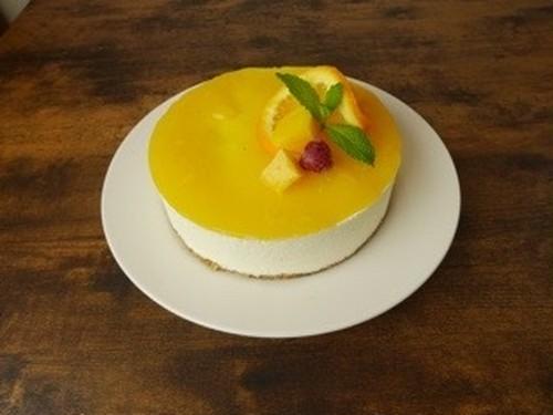 【管理栄養士監修!糖質制限】レアチーズケーキ マンゴーオレンジ※卵、小麦不使用