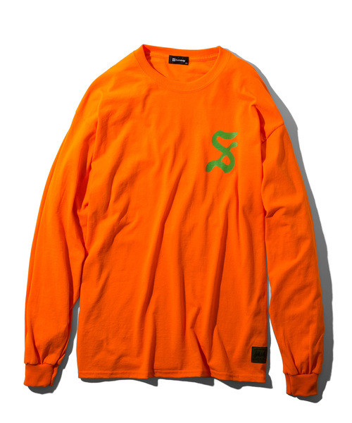 Subciety(サブサエティ)    pilgrim L/S (Orange)