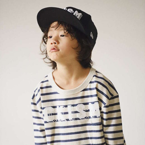 CKISM Border Big Long Sleeve Tee
