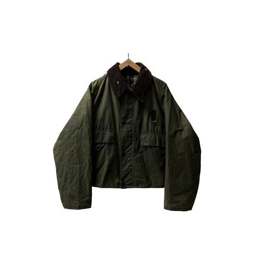 """80's """"BARBOUR / SPEY"""" OILED JACKET"""