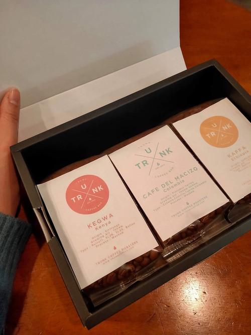 ★コーヒー豆ギフトセット★【Gift C-set】コーヒー豆200g×3種