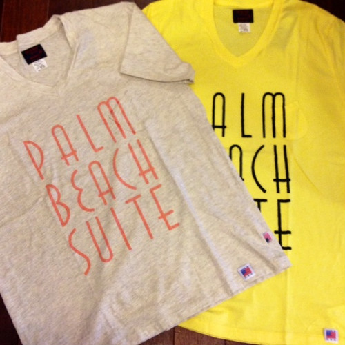 "SUNNY SPORTS / サニースポーツ | 【超特価SALE!!! 50%OFF】 "" PALM "" V-Neck Pocket T-Shirts"