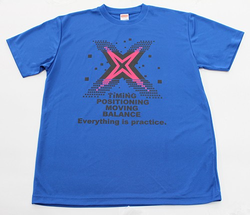 「Everything is practice」 Tシャツ【ロイヤルブルー(HB-70)】
