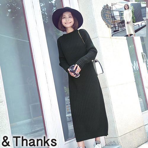 大人可愛い ロングワンピースドレス 2カラー 3サイズ