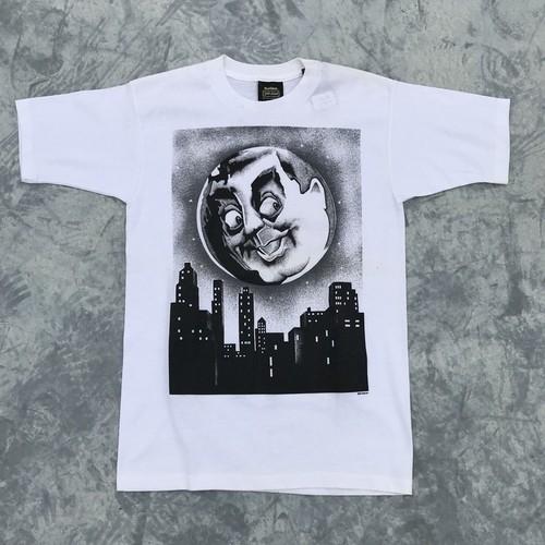 80's 84Slayton デザインTシャツ ホワイト グラフィック Healthknit gold label Mサイズ USA製 ヴィンテージ