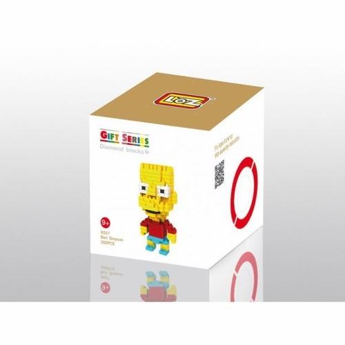 LOZ 9337 ダイヤモンドブロックス バート・シンプソン / Diamond blocks Bart Simpson 1個/200pcs