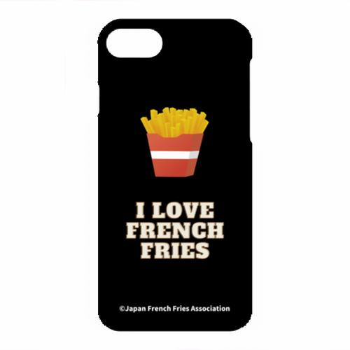 [ iPhone SE(第2世代), 7, 8 ] スマホケース(I LOVE FRENCH FRIES)