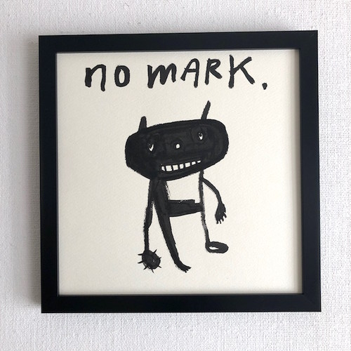 """NO MARK"" Diskah art works"