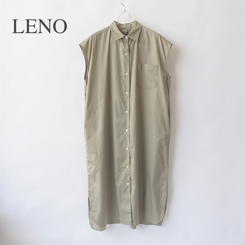 LENO/リノ・FRENCH SLEEVE OPEN-FRONT DRESS