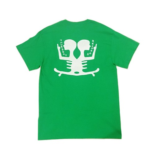 THURSDAY - THURSDAY RECORDS TEE (Irish Green)