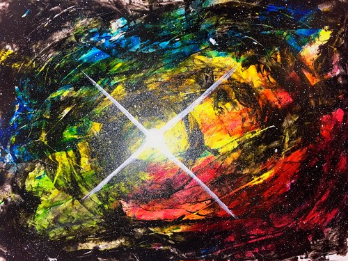 """channeling paint """"神威"""""""